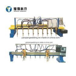 Plaque en acier de métal CNC Type de bras automatique Machine de découpe plasma de flamme pour H Beam