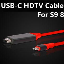 USB-C HDTV Kabel Typ-c zum HDMI Konverter 4K 30Hz für Samsung-Galaxie S8