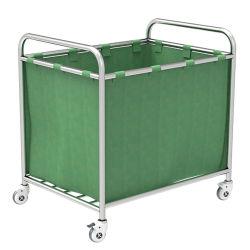 Skh040 Cina prodotti bello acciaio inox lavanderia Trolley