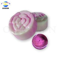 Cosmétique Pearl Mica en poudre scintillante de pigments de couleurs pour le savon de pigment Colorant