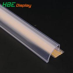 Contrassegno di plastica del supporto della modifica del biglietto di prezzi del supermercato del nastro adesivo