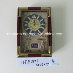 Venta directa de fábrica cuadro Clave del bastidor de alta calidad con reloj
