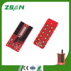 Télécommande sans fil industriel de la sécurité pour le palan PCBA Grues fréquence 433 MHz