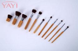 Il bambù naturale di cura di pelle di Yayi 11PCS compone il trucco delle estetiche dell'insieme di spazzola
