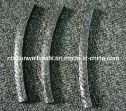 Pure Graphite Braid Packing Reinforced Ss304/316L/Nickel Wire Graphite Packing (SUNWELL)