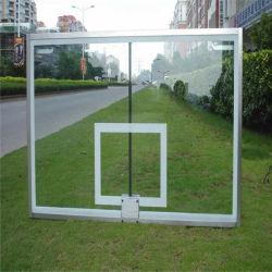 Fiba el bastidor de aluminio de alta calidad estándar de Baloncesto de vidrio templado tablero fabricante