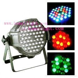 RGBW 3wx54 maakt het Licht van het Stadium van de Lamp van het PARI met van het Hoofd effect van de Disco van de Vlek van het Aluminium DMX512 Lichte Partij waterdicht