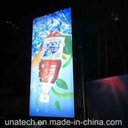 مصباح الشارع الخارجي عمود إعلان LED طي طي إضاءة خلفية لوحة إعلانات Banner Light Box