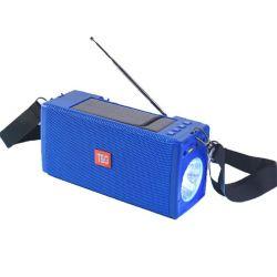 Radio solare radiofonica multifunzionale esterna Solare-Alimentata della torcia elettrica FM del LED