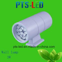 Der IP-65 einzelne Hauptcer-Bescheinigung wand-Lampen-3W