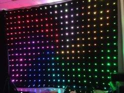 P10cm LED RGB 3 en 1 RIDEAU DE VISION