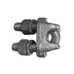 オーバーヘッドラインワイヤ保持クリップ防錆スチールケーブルクランプパワー 優れた価格のアクセサリ