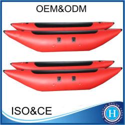 Alongado insufláveis Pontoon para tubos de salvamento