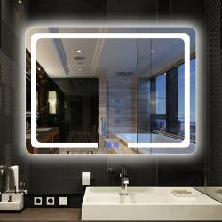 بنية [لد] غرفة حمّام مرآة مع [ديجتل كلوك]