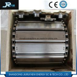 La plaque de chaîne en acier inoxydable de la courroie du convoyeur d'utiliser pour transporter l'élément lourd