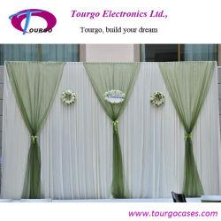 Tourgo tubo telescópico y sistema de cortina para el evento /Boda