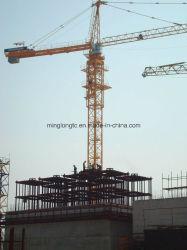 Qtz80 (TC6010) Équipement de construction de grues à tour hydraulique
