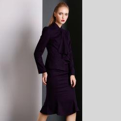 Les femmes violet Fashion occasionnels conviennent pour les filles de gros de fantaisie