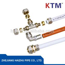 Pex-Al-Pex tubo multicapa para agua caliente