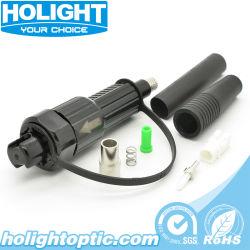 Sc resistente al agua IP67 Mini conector para cable de fibra óptica