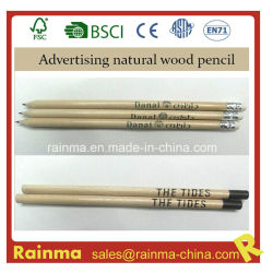 Hotel Advertizing GiftのためのWoodの自然なHb Pencil