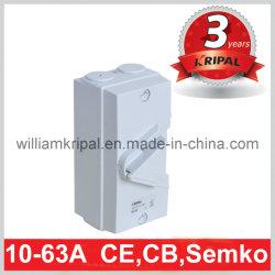 IP66 63A 4p Isolating Switch/Isolator Switch