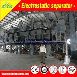 Haute tension de la plaque d'Arc de la machine de tri de titane séparateur électrostatique