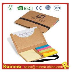 Eco Memo Pad com placa de nome de bolso para uso de promoção e de escritório