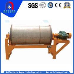 Ctg Overband Séparateur magnétique à tambour sec pour Mangnese /Fer/Ligne de traitement de minerai de limonite