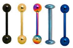 الجسم ثقب مجوهرات تيتانيوم باربيل