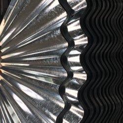 JIS G3302 SGCC trempés à chaud en acier galvanisé ondulé tôle de toit
