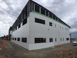 Циндао Коммерческого здания стали структуры для индивидуального использования сегменте панельного домостроения портативных гаражей