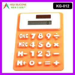 Promotion de la calculatrice en caoutchouc de silicone/silicone calculatrice