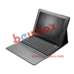Aduro Folio leren hoes Bluetooth toetsenbord voor Apple iPad 2 IPad 3 nieuwe iPad