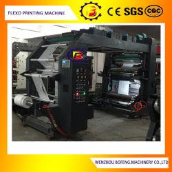 4 Цвет с программируемым логическим контроллером управления большой скорости не подпольную сеть магазинов мешки Flexographic печать машины с помощью воды чернила
