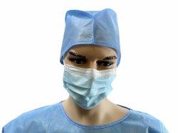 Elastische anti-slip PP+PE PP SMS Disposable chirurgisch niet-geweven gezichtsmasker, nitril handschoenen, chirurgische arts Flip Cap Bouffant Cap Doctor Cap voor ziekenhuis, dokter