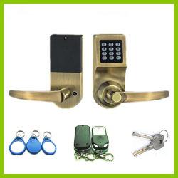4방향 디지털 스마트 도어 잠금 암호 카드 키 도난 방지 보안 Yet902