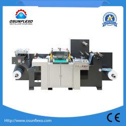 Автоматическая высокая скорость высокая точность рулона в рулон и стабилизатора поперечной устойчивости на листах с плоской платформой режущего штампов машины