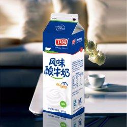 El agua/leche/Yoghuourt paquete o Jam/Café/Sopa de especias y/Látigo Topping/Lactobacillus bebidas/jugo y la albúmina/Yoghour/cat /Wip superando a dos aguas arriba de cartón de papel
