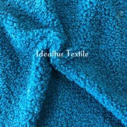 Pilha de curto encaracolado cordeiro falso /Peles com pêlo Lã Artificial