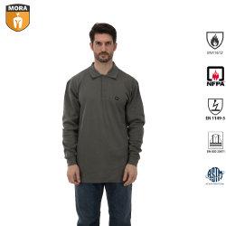 100%хлопок огнестойкие рубашки поло в Workwear