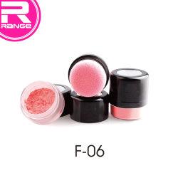 Tazzoletto di polvere di miscela di Makeup di etichetta di Pravite di vendita a caldo Con Puff