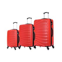 Il colore d'avanguardia di vendita calda ABS/Candy del Amazon/vendita calda/popolare/d'avanguardia/Fashion/3PCS imposta/valigia con 4 rotelle/sacchetto/bagagli/bagagli di corsa