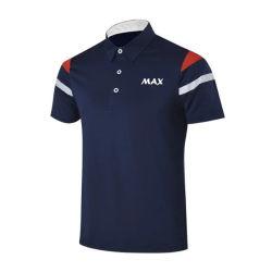 高品質によってカスタマイズされる普及したロゴの人のゴルフポロシャツ