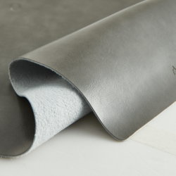 El espesor de 1,8 mm de cuero de color negro dos Rexine muebles PVC cuero sintético para equipaje o en el bolso