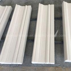طبيعيّ يصقل بيضاء رخاميّ حجارة صنع داخلية حالة