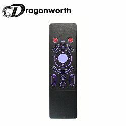 Touchpad de Bluetooth T6 de clavier clavier éclairé à contre-jour de radio de 7 couleurs