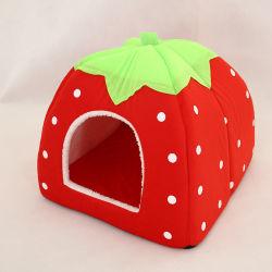 سرير Cat House Foldable Leopard من نوع Strawberry Dog