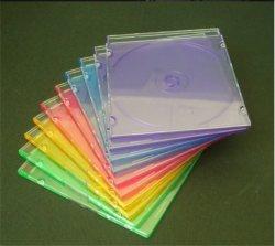 Cuadro de un solo CD único caso de un solo CD CD Cover de 5,2 mm con bandeja de Color