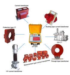 Prüfung des elektrischen Gerätetransformators GF1061 CT PT Analysator